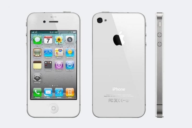 Замена рамки дисплея iPhone 4