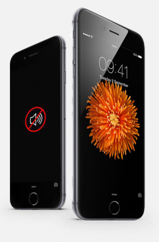 Замена слухового динамика iPhone 6S Plus