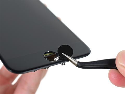 Замена кнопки HOME iPhone 5c