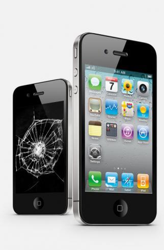 Замена стекла iPhone 4S