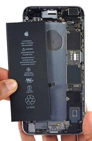 Замена аккумулятора iPhone XR