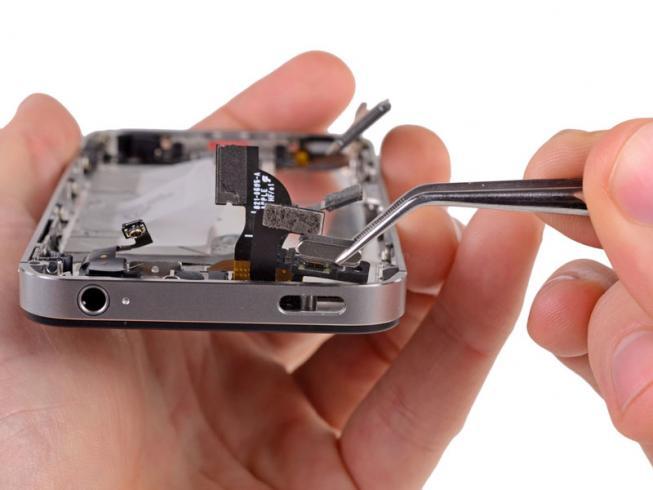 Замена кнопки включения и громкости iPhone 5C