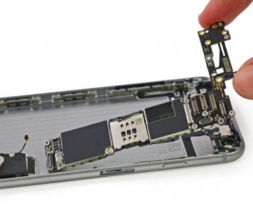 Замена аудиокодека iPhone 5S