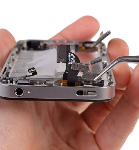 Замена кнопки включения и громкости iPhone